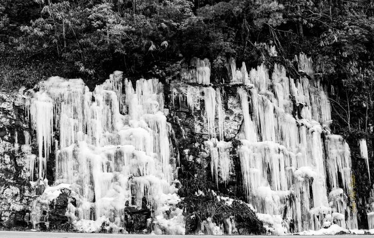 February Waterfall